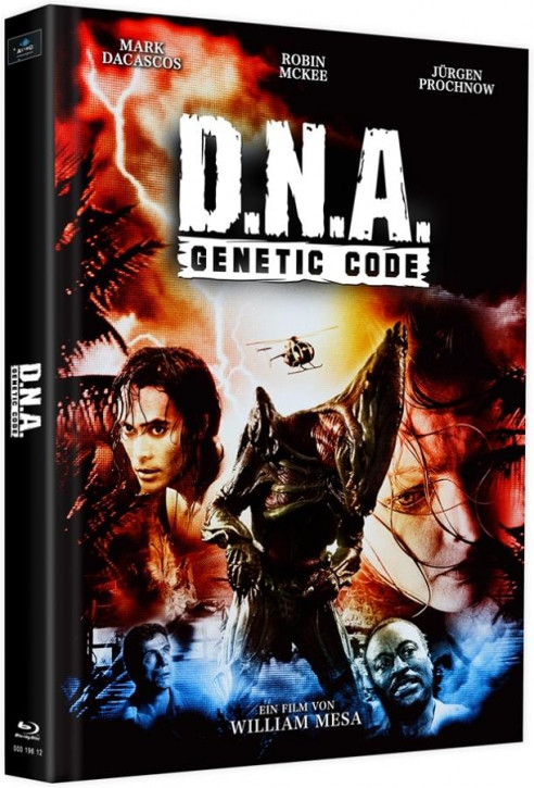 D.N.A. - Genetic Code - Mediabook - Cover E [Blu-ray]