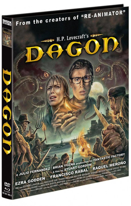 Dagon - Mediabook - Cover A [Blu-ray+DVD]