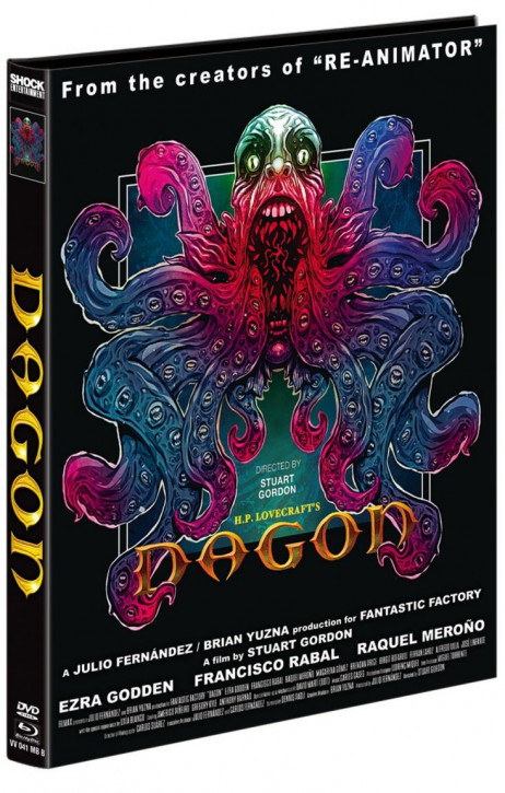 Dagon - Mediabook - Cover B [Blu-ray+DVD]