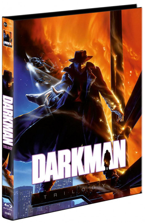 Darkman Trilogy - Limited Mediabook Edition - Cover A [Blu-ray]