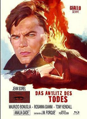Das Antlitz des Todes - Eurocult Collection #040 - Mediabook - Cover B [Blu-ray+DVD]