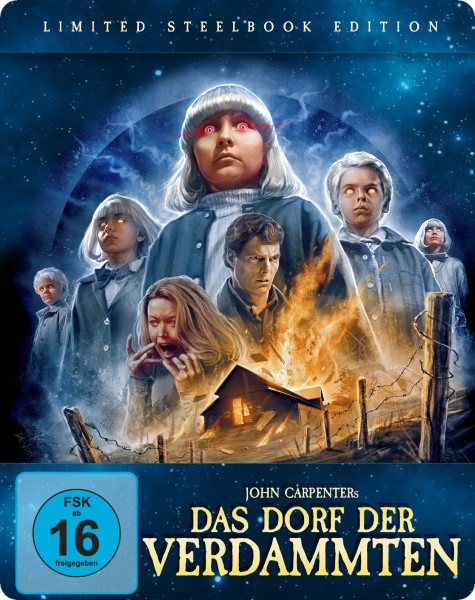 Das Dorf der Verdammten - Steelbook [Blu-ray+DVD]