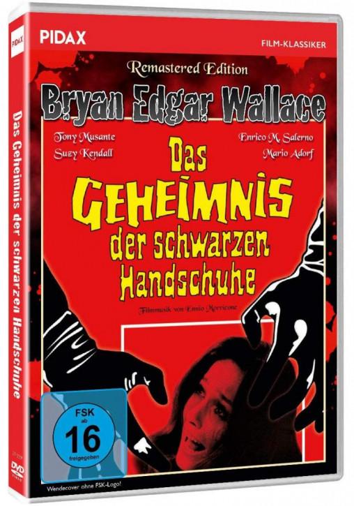 Bryan Edgar Wallace: Das Geheimnis der schwarzen Handschuhe [DVD]