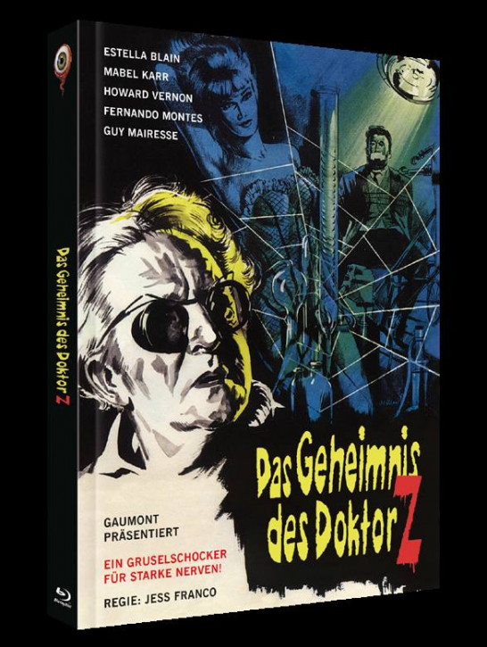 Das Geheimnis des Doktor Z - Limited Collectors Edition Cover A [Blu-ray+DVD]