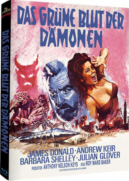 Das grüne Blut der Dämonen - Hammer Edition Nr. 1 - Cover B [Blu-ray]