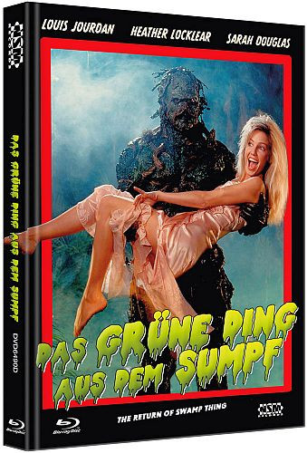 Das grüne Ding aus dem Sumpf (The Return of the Swap Thing) - Limited Collector's Edition - Cover D [Bluray+DVD]