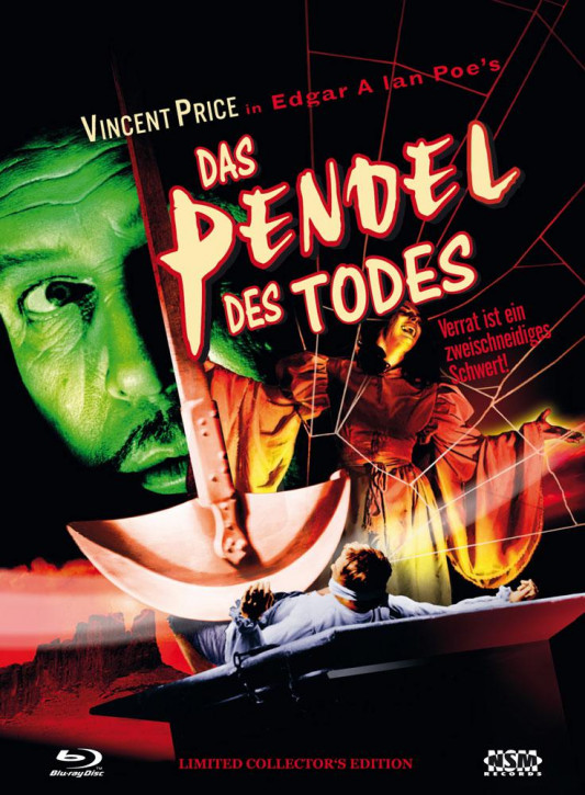 Das Pendel des Todes - Limited Collector's Edition - Cover B [Blu-ray+DVD]