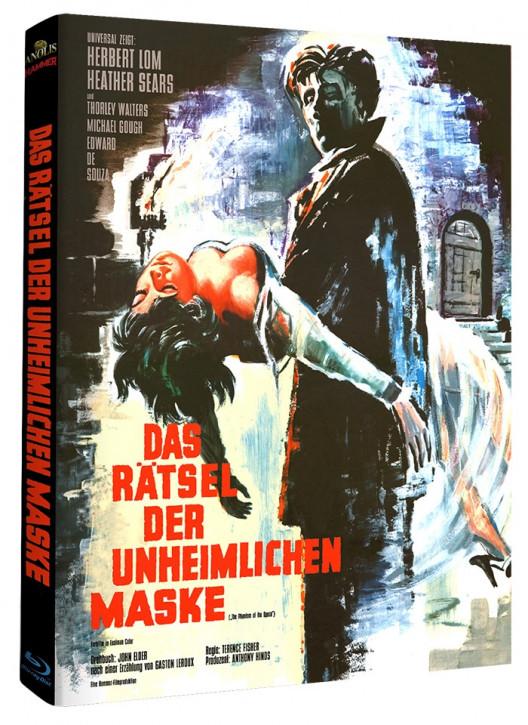 Das Rätsel der unheimlichen Maske - Hammer Edition Nr. 17 - Cover A [Blu-ray]