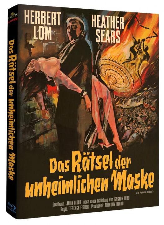 Das Rätsel der unheimlichen Maske - Hammer Edition Nr. 17 - Cover B [Blu-ray]
