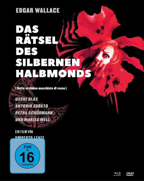 Edgar Wallace: Das Rätsel des silbernen Halbmonds - Limited Mediabook Edition [Blu-ray+DVD]
