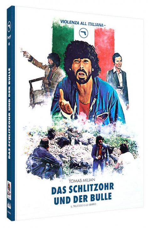 Das Schlitzohr und der Bulle - Limited Mediabook Edition - Cover C [Blu-ray+DVD]
