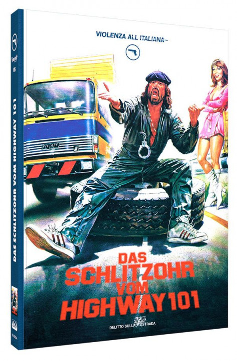 Das Schlitzohr vom Highway 101 - Limited Mediabook Edition - Cover A [Blu-ray+DVD]