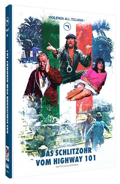 Das Schlitzohr vom Highway 101 - Limited Mediabook Edition - Cover C [Blu-ray+DVD]