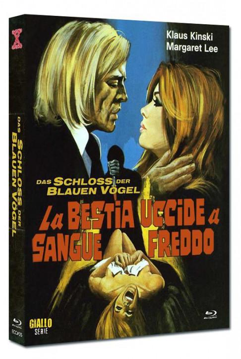 Das Schloss der blauen Vögel - Eurocult Collection #035 - Mediabook - Cover B [Blu-ray+DVD]