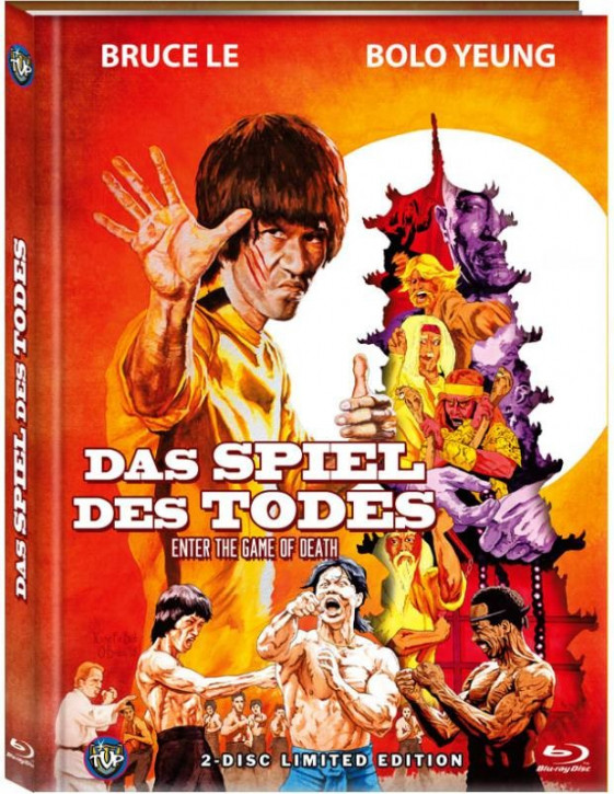 Bruce Lee - Das Spiel des Todes - Limited Edition - Cover C [Blu-ray+DVD]