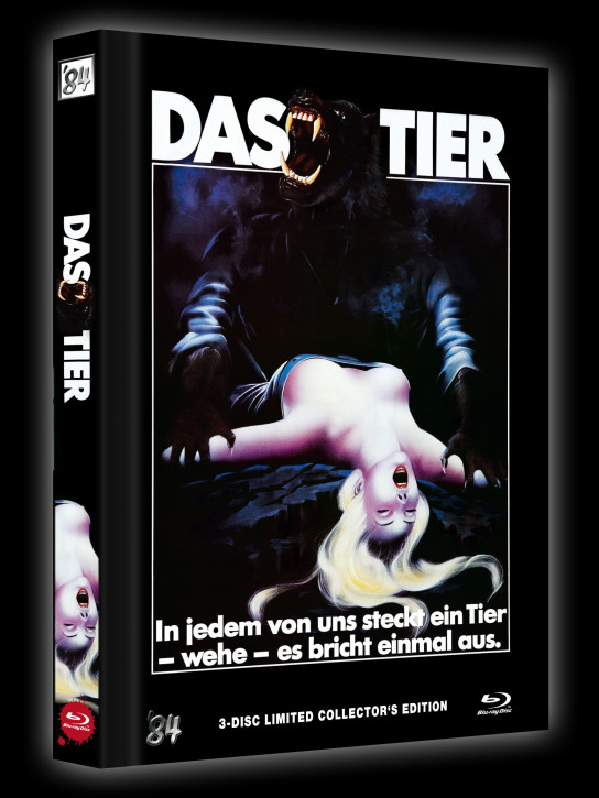 Das Tier - Limited Collector's Edition - Cover B [Blu-ray+DVD]