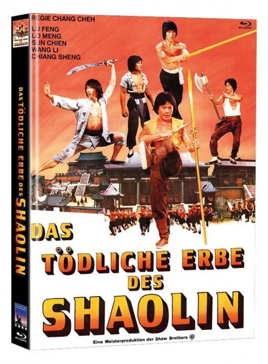 Das tödliche Erbe der Shaolin - Limited Mediabook Edition [Blu-ray]