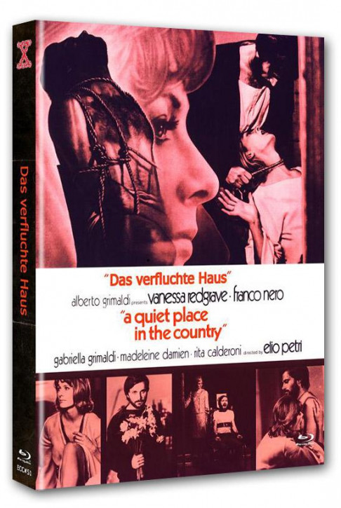 Das verfluchte Haus - Eurocult Collection #051 - Mediabook - Cover A [Blu-ray+DVD]