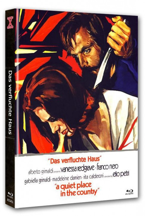 Das verfluchte Haus - Eurocult Collection #051 - Mediabook - Cover C [Blu-ray+DVD]