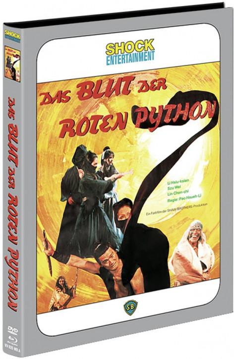 Das Blut der roten Python - Mediabook - Cover A [Blu-ray+DVD]