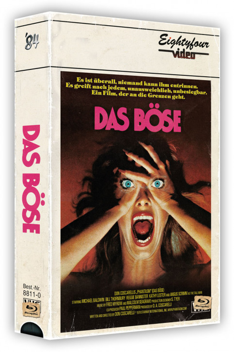 Das Böse - Retro Edition im VHS-Look [Blu-ray+DVD]