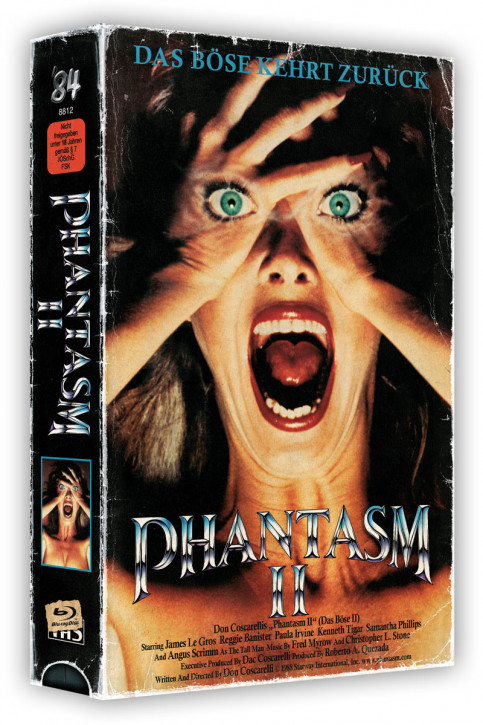 Phantasm II - Retro Edition im VHS-Look [Blu-ray+DVD]