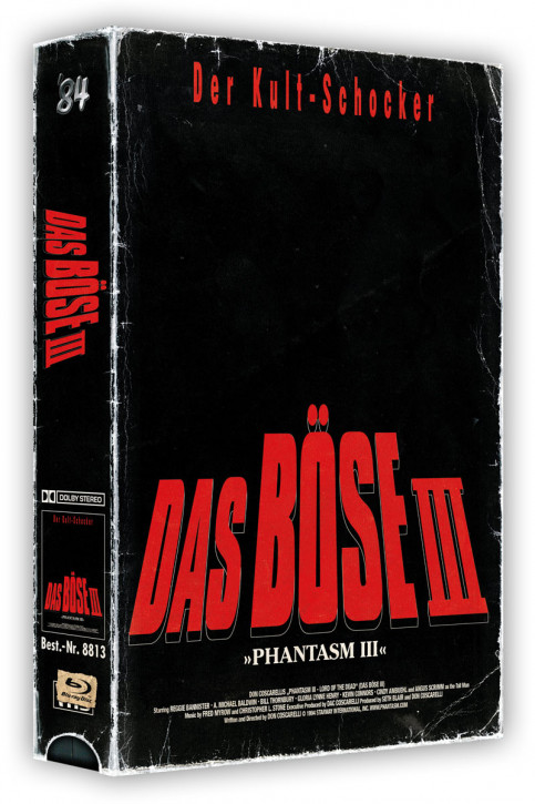 Das Böse III - Retro Edition im VHS-Look [Blu-ray+DVD]