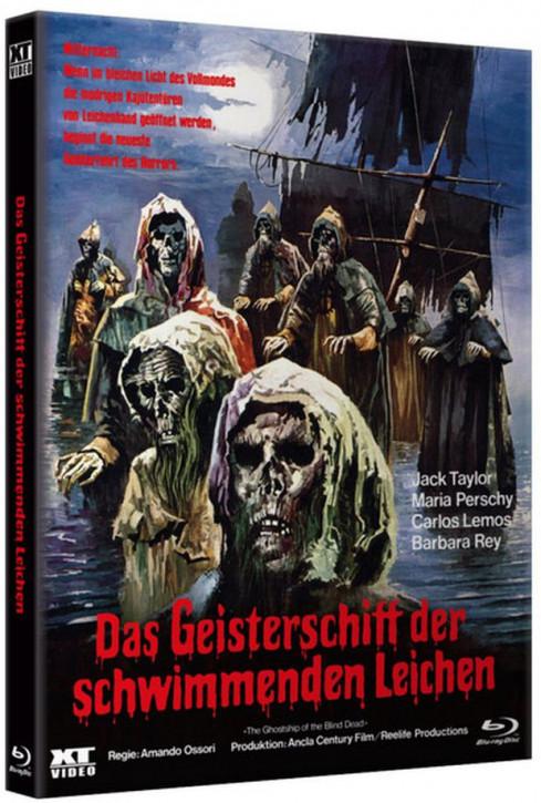 Das Geisterschiff der schwimmenden Leichen - HD Kultbox [Blu-ray]