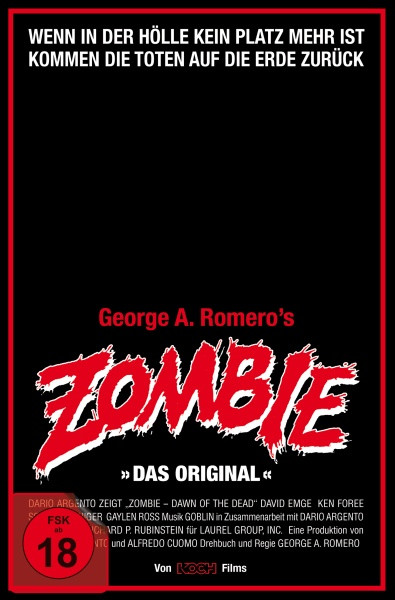 Zombie - Dawn of the Dead - Retro-VHS-Edition - Cover A [4K UHD+Blu-ray]