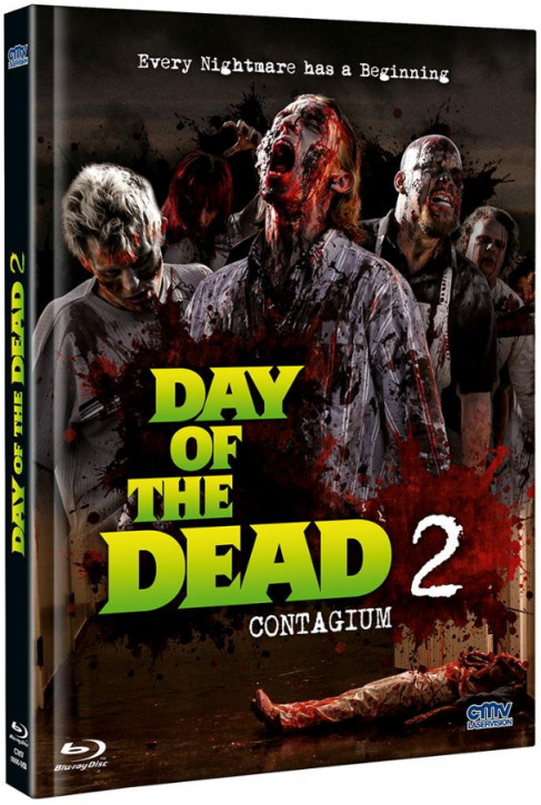 Day of the Dead 2 - Contagium - Mediabook [Blu-ray+DVD]