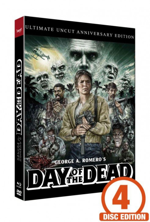 Zombie 2 - Day of the Dead - Mediabook - Cover B [Blu-ray+DVD+CD]
