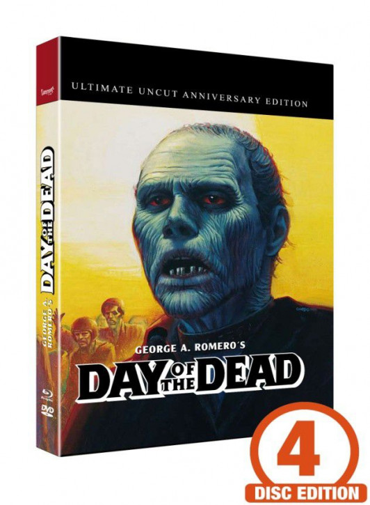 Zombie 2 - Day of the Dead - Mediabook - Cover C [Blu-ray+DVD+CD]