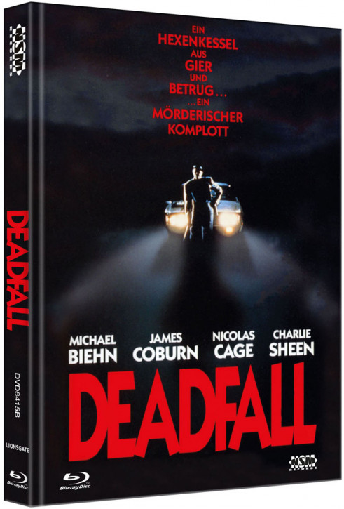 Deadfall - Limited Collector's Edition - Cover B [Bluray+DVD]