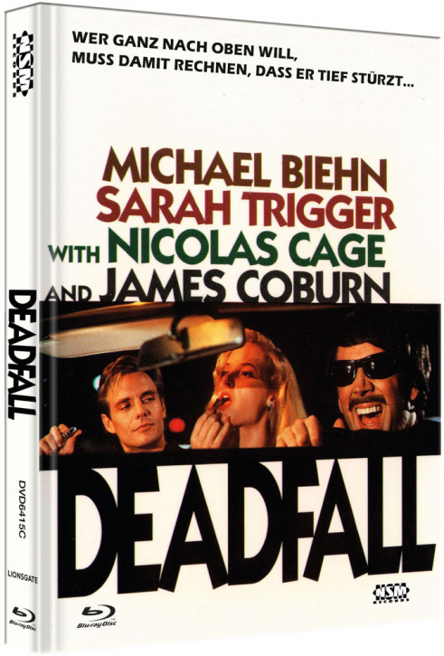 Deadfall - Limited Collector's Edition - Cover C [Bluray+DVD]