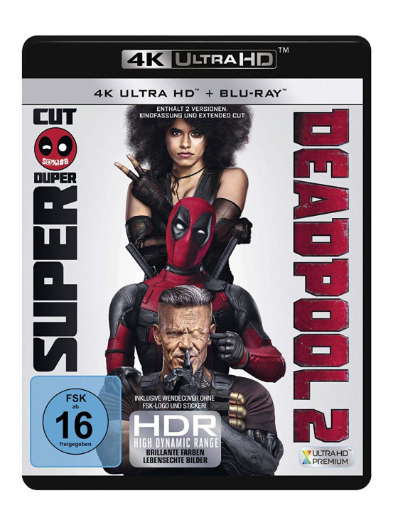 Deadpool 2 [4K UHD Blu-ray]