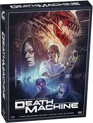 Death Machine - Collectors Edition [Blu-ray+DVD+CD]