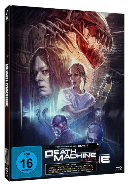 Death Machine - Limited Mediabook Edition - Cover A [Blu-ray+DVD]