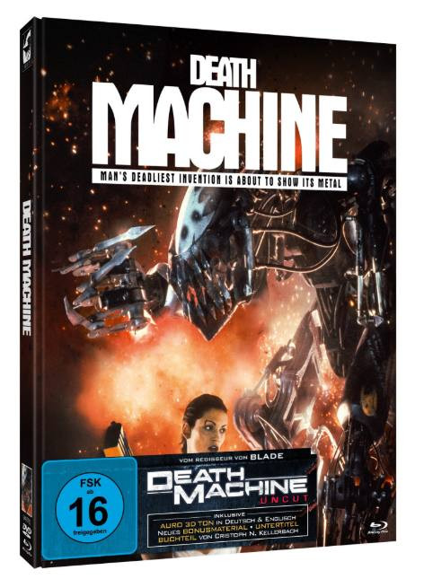 Death Machine - Limited Mediabook Edition - Cover C [Blu-ray+DVD]