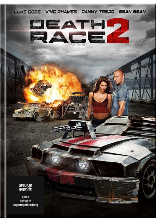 Death Race 2 - Mediabook - Cover A [Blu-Ray+DVD]