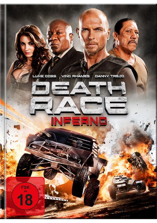 Death Race 3: Inferno - Mediabook - Cover A [Blu-Ray+DVD]