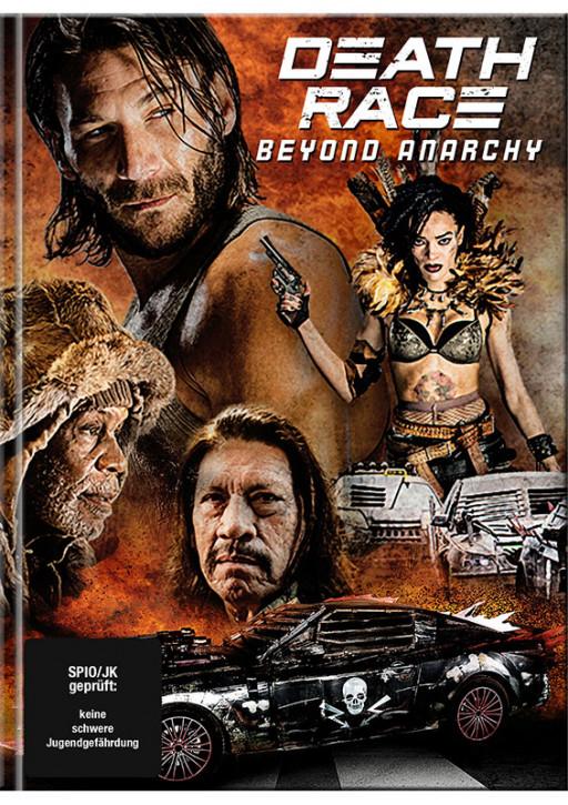 Death Race 4: Anarchy - Mediabook - Cover B [Blu-Ray+DVD]