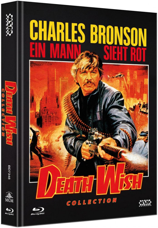 Death Wish 1-5  - Limited Collector's Edition [Blu-ray]
