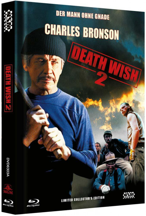 Death Wish 2 - Limited Collector's Edition - Cover A [Blu-ray+DVD]