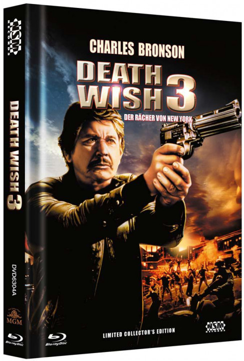 Death Wish 3 - Limited Collector's Edition - Cover A [Blu-ray+DVD]