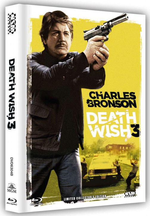 Death Wish 3 - Limited Collector's Edition - Cover B [Blu-ray+DVD]