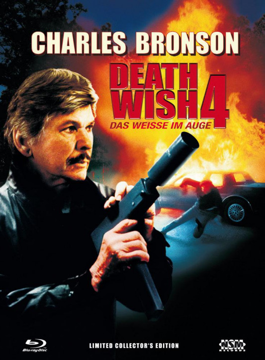 Death Wish 4 - Das Weiße im Auge - Limited Collector's Edition - Cover A [Blu-ray+DVD]