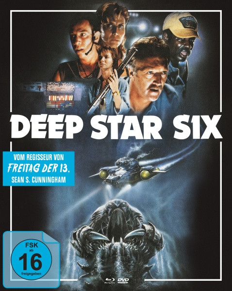 Deep Star Six - Limited Mediabook Edition - Cover A [Blu-ray+DVD]