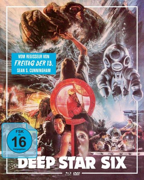 Deep Star Six - Limited Mediabook Edition - Cover B [Blu-ray+DVD]