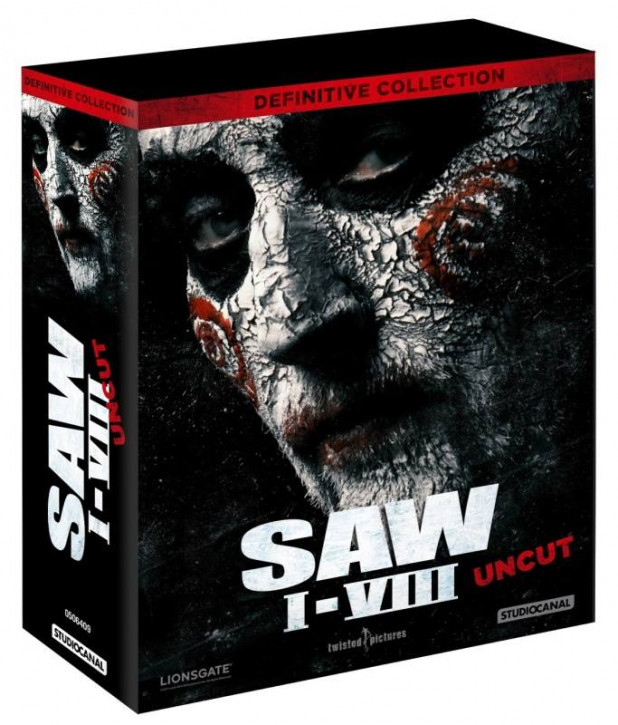 Saw I - VIII - Definitive Collection (Uncut) [Blu-ray]