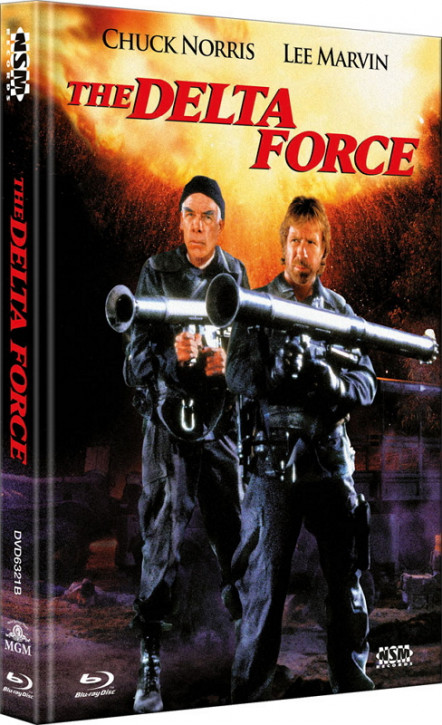 Delta Force 1 - Limited Collector's Edition - Cover B [Bluray+DVD]